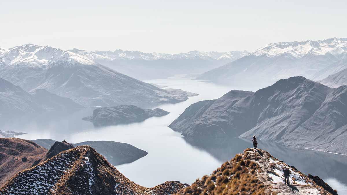 los paisajes en nueva zelanda son hermosos
