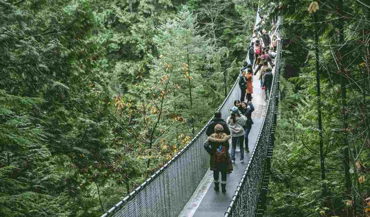 puente colgante capilano canada