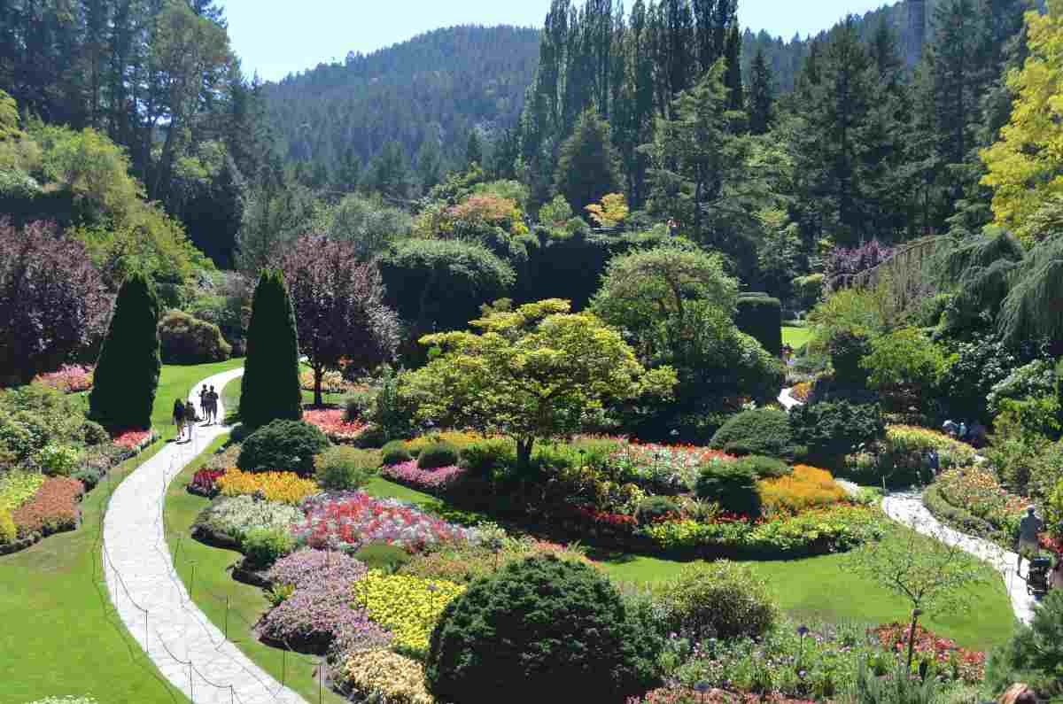 jardines de butchart canada