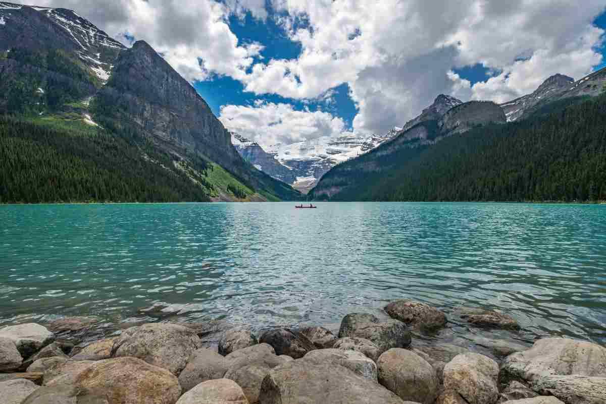 lago louise en canada