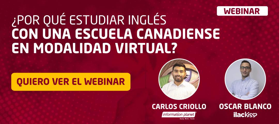 CTA-Webinar por que aprender ingles escuela canadiense 2